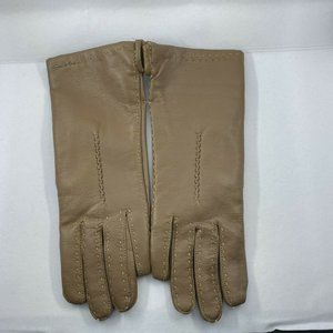 NEW Vintage Driving Gloves  S / M Brown